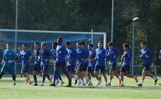 El Real Oviedo prepara su encuentro ante el Rayo Majadahonda