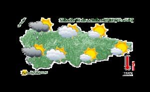 Tiempo en Asturias: Día cálido con vientos de sur el sábado