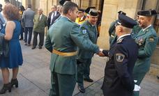 La Guardia Civil de Valdés celebra el Día de la Hispanidad