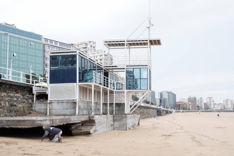 Ciudadanos urge soluciones ante la pérdida de arena en San Lorenzo