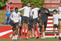 Entrenamiento del Sporting (12-10)
