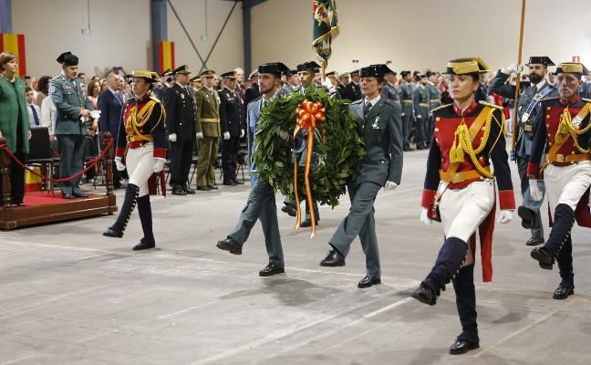 Gijón respalda a la Guardia Civil