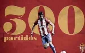 Los 300 partidos de Canella con el Sporting