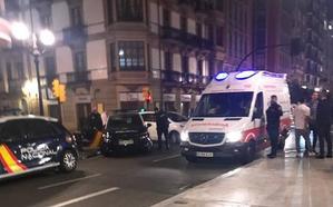 La Policía Nacional interviene en una pelea entre varios jóvenes en Gijón