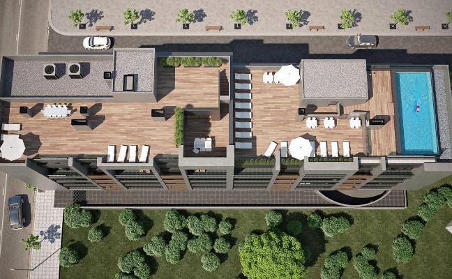 Viesques está ya por encima de los 3.000 euros el metro en los pisos en construcción