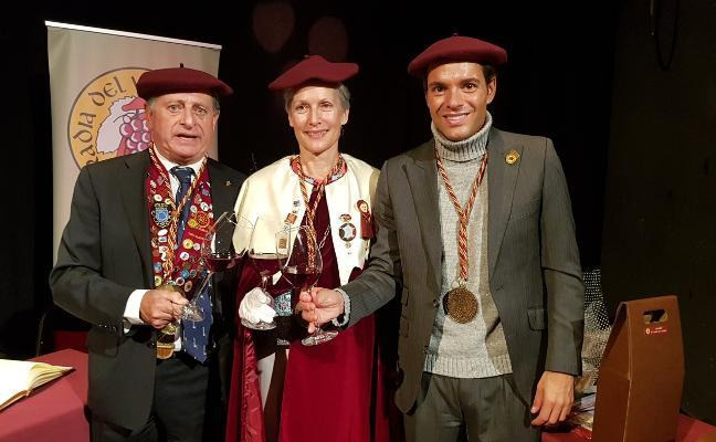 «Un buen vino es el mejor hidrante tras una competición», dice Antonio Rossi