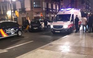 Un joven herido en una violenta pelea en Gijón