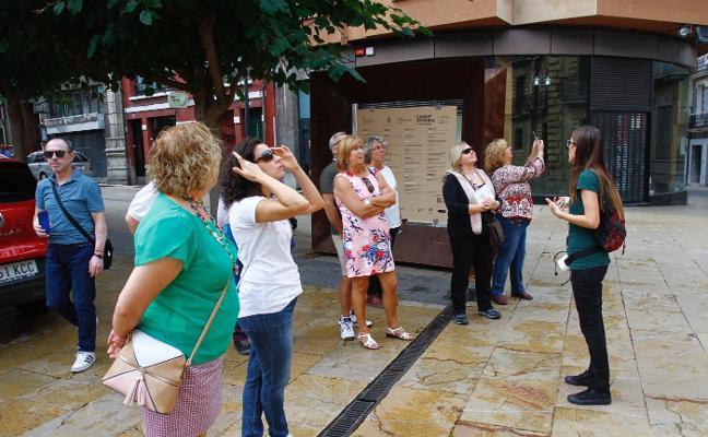 El turismo internacional crece y ya representa el 15,1% de los visitantes a Avilés