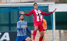El Izarra 0-2 Sporting B, en imágenes