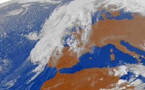 Las tormentas de Leslie ponen a Asturias en alerta amarilla