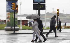 Leslie se aleja de Asturias, pero se queda el frío