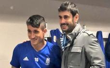 Melendi, incondicional con el Real Oviedo en el Wanda