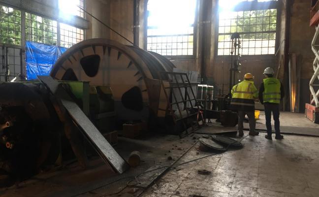 Hunosa rehabilita la sala de máquinas para el control de la geotermia de Barredo