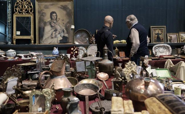 La afición a la venta de antigüedades «se profesionaliza»