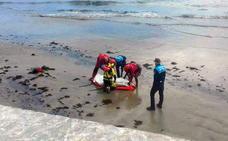 El cadáver hallado en Luanco corresponde al avilesino desaparecido desde septiembre