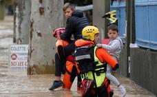 'Leslie' causa al menos doce muertos en el sur de Francia