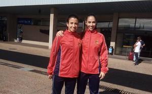 Sara González y Marta Piquero ya están en Asturias