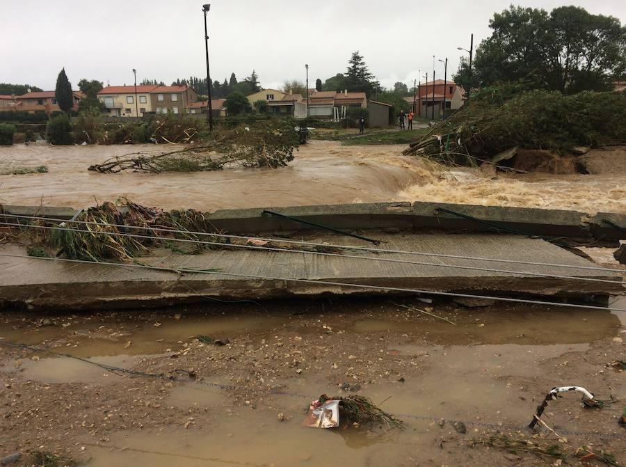 Al menos 5 muertos por inundaciones en el sur de Francia