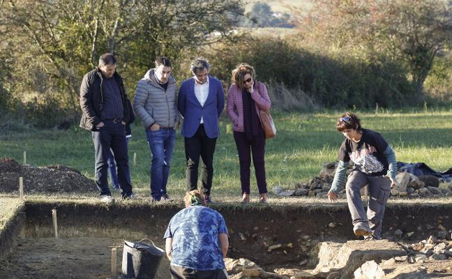 El yacimiento arqueológico de Lugo deja al descubierto los restos de unas termas