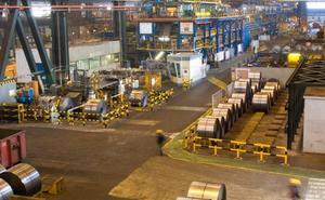 Arcelor parará la línea de galvanizado de Avilés por la caída del mercado del automóvil