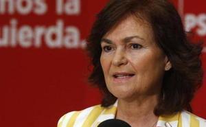 Carmen Calvo encabezará la representación del Gobierno en la ceremonia de los Premios Princesa