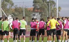 Entrenamiento del Sporting (16-10-2018)