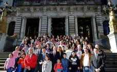 Estudiantes de la comarca Oscos-Eo, protagonistas de un Pleno infantil