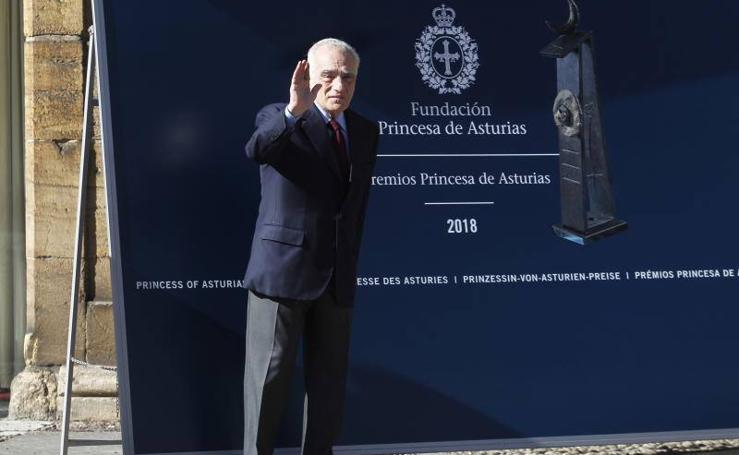 Martin Scorsese ya está en Asturias