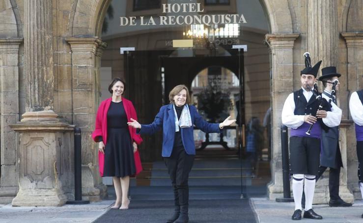 Sylvia Earle ya está en Asturias