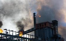 El Gobierno descarta que el incendio en Arcelor vaya a influir en las inversiones anunciadas