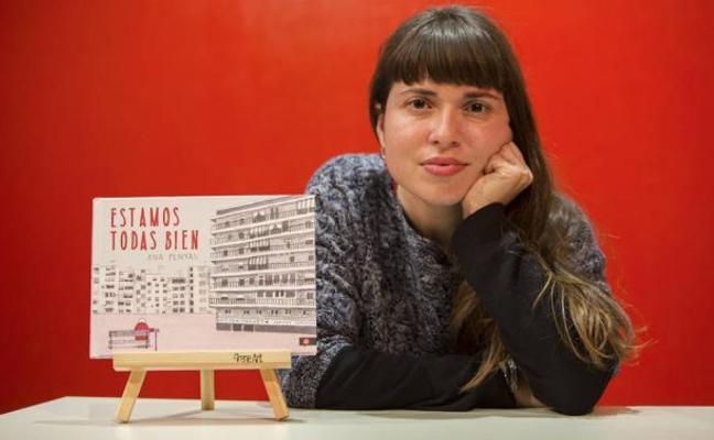 Ana Penyas, primera mujer en ganar el Nacional de Cómic