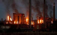 El fuego en Arcelor deja las baterías de Avilés al borde del cierre