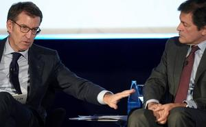 Núñez Feijóo plantea a Javier Fernández trabajar conjuntamente ante el cierre de Alcoa