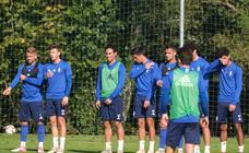 Entrenamiento del Real Oviedo (17-10-2018)