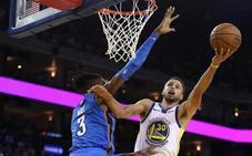 Curry y Tatum lideran las victorias de Warriors y Celtics