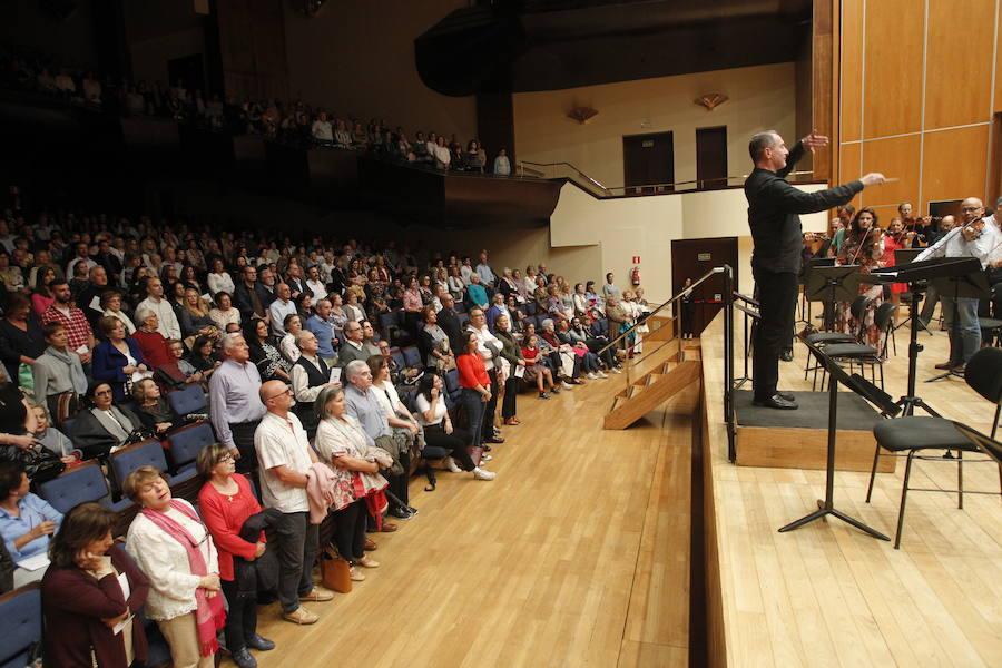 Lleno en el Auditorio para disfrutar del ensayo general del concierto de los Premios