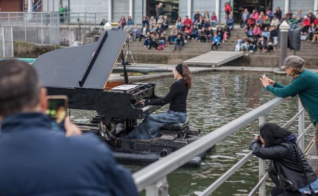 El pantano de Trasona acoge un recital de piano