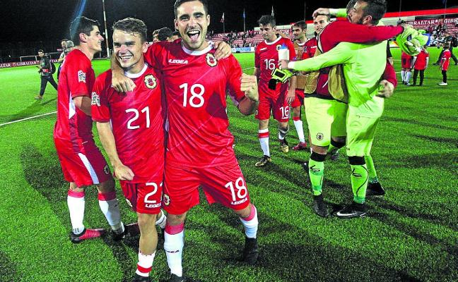 Gibraltar 'se acostumbra' a ganar