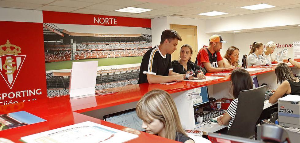 El Sporting cierra la campaña de abonados con 23.360 socios