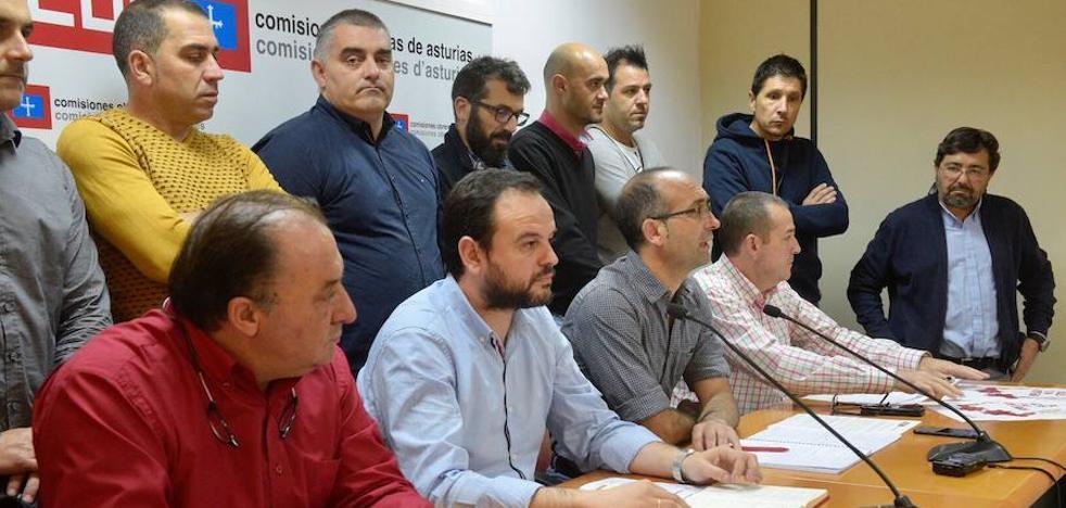 Los sindicatos llaman a la huelga a los 23.000 trabajadores del metal en Asturias