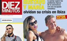 Gustavo González y María Lapiedra olvidan su crisis en Ibiza