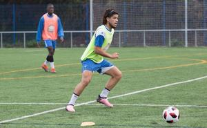 «Ojalá me pueda quedar en el Real Avilés», dice el brasileño Gabriel