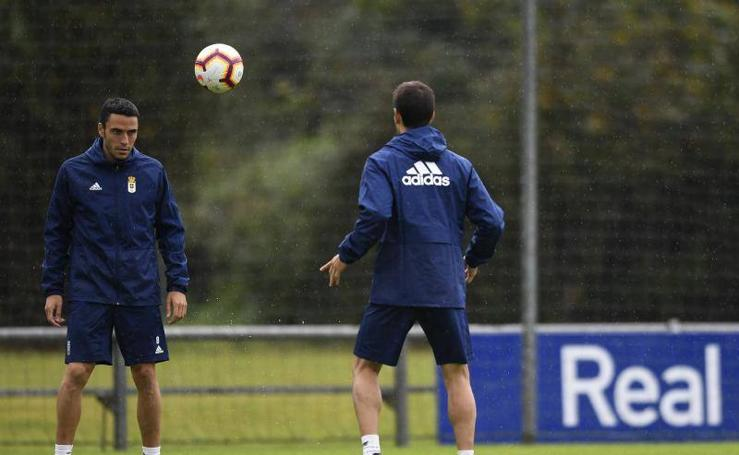 Entrenamiento del Real Oviedo (18-10-2018)