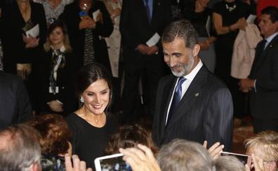 Los Reyes presiden el concierto de los Premios Princesa de Asturias