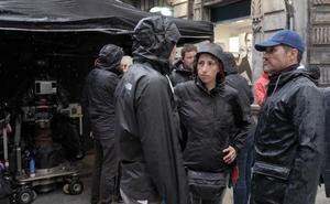 Gijón se convierte en el plató de la comedia 'Si yo fuera rico'
