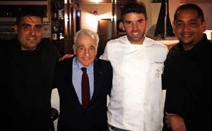 Tomate, anchoas, sardinas y lubina para Scorsese