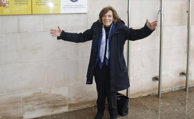 Así fue la visita de Sylvia Earle al Instituto Oceanográfico de Gijón