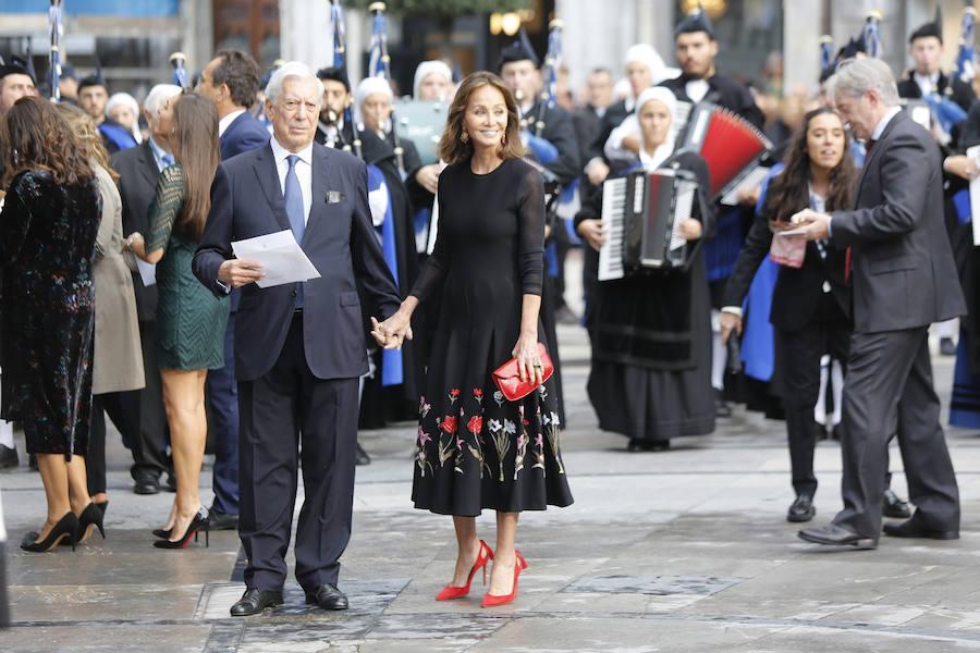 La alfombra azul de los Premios Princesa de Asturias 2018