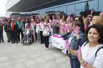 Lucha contra el cáncer de mama a las puertas del HUCA