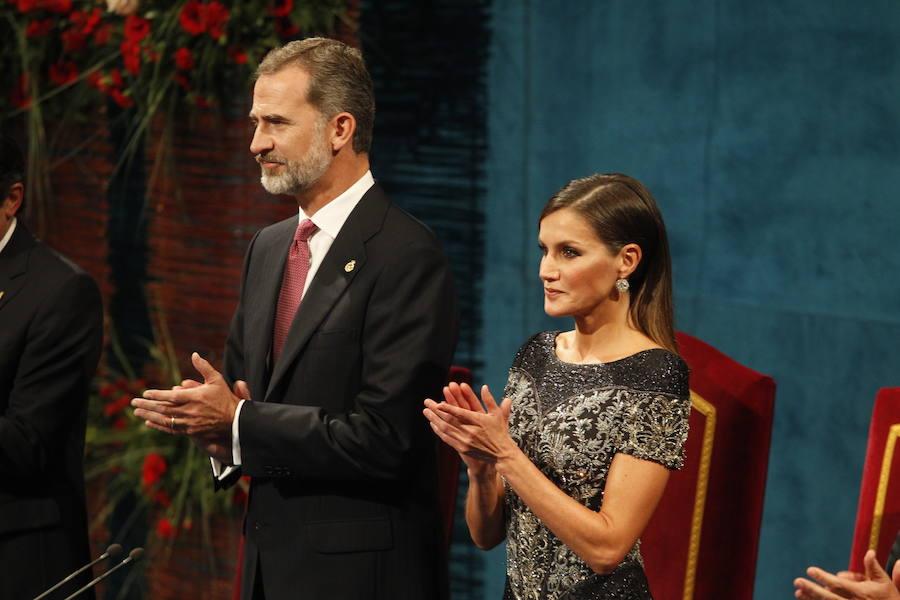 Las mejores imágenes de los Premios Princesa de Asturias 2018